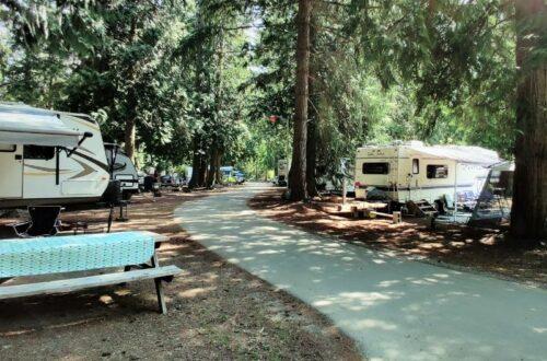 pathfinder parksville bc rv park camp resort camprground