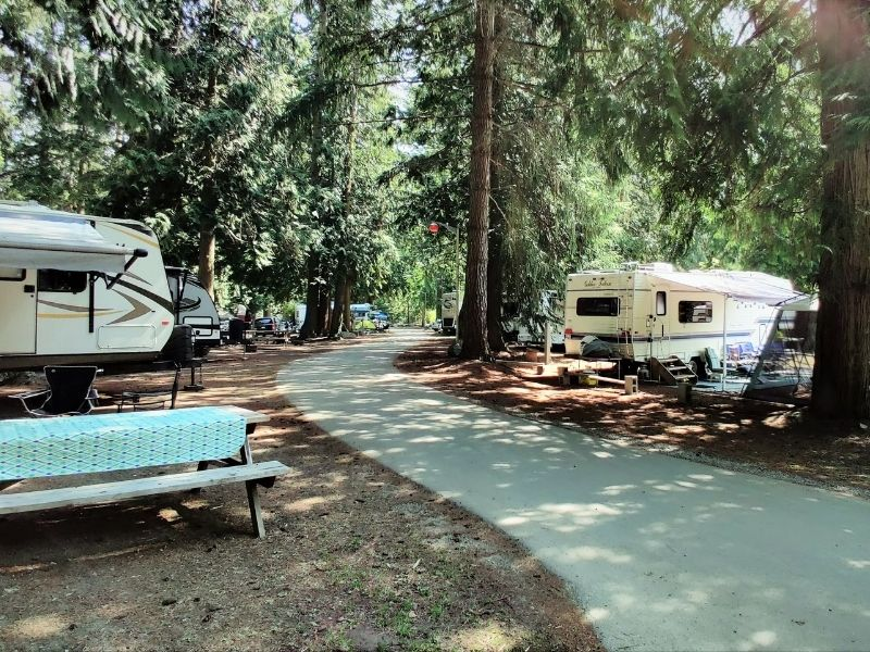 pathfinder parksville bc rv park camp resort camprground