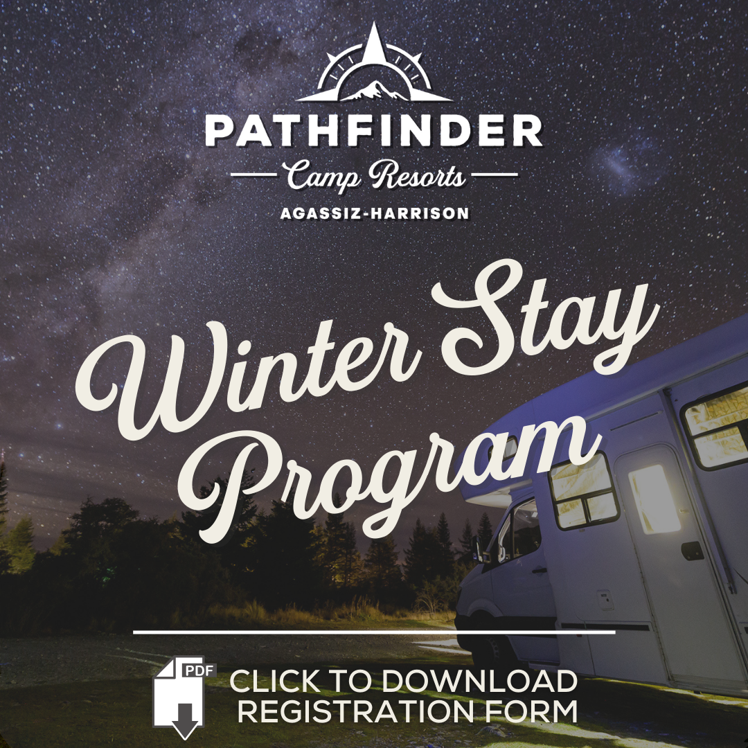 rv pathfinder camp resort winter stay program