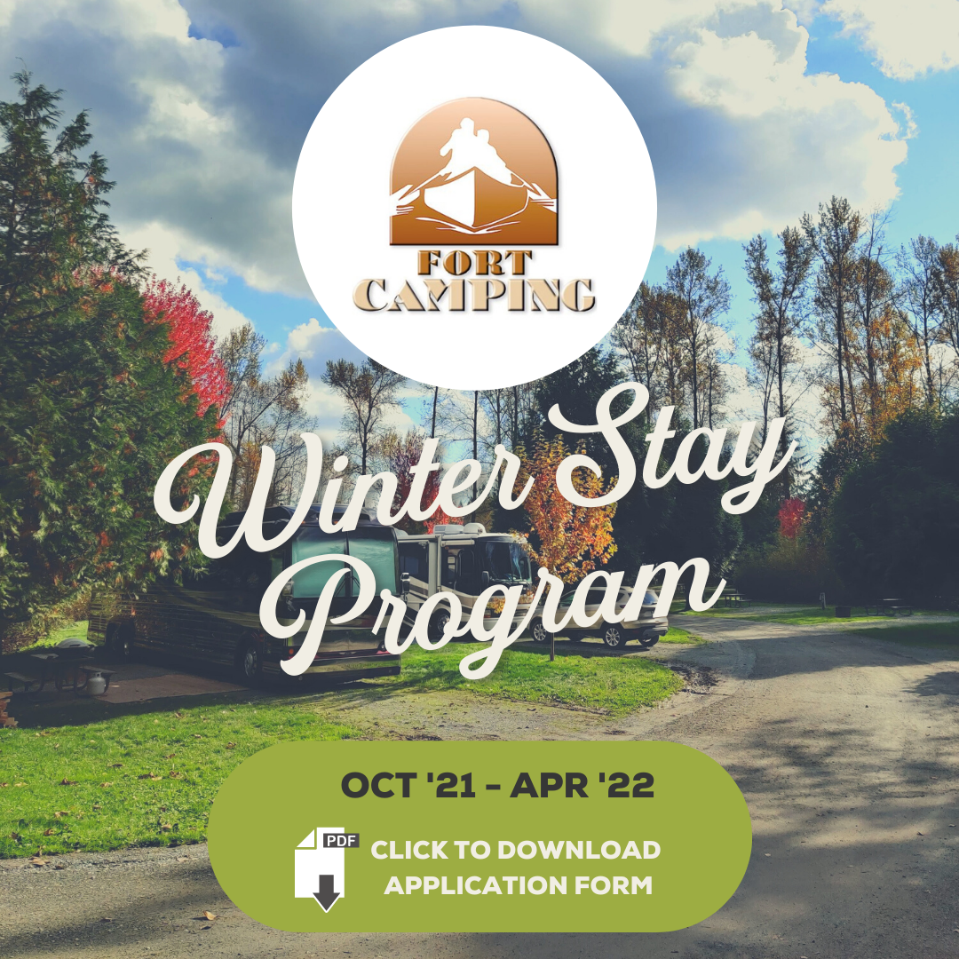 fort camping fort langley winter stay program winter camping rv life