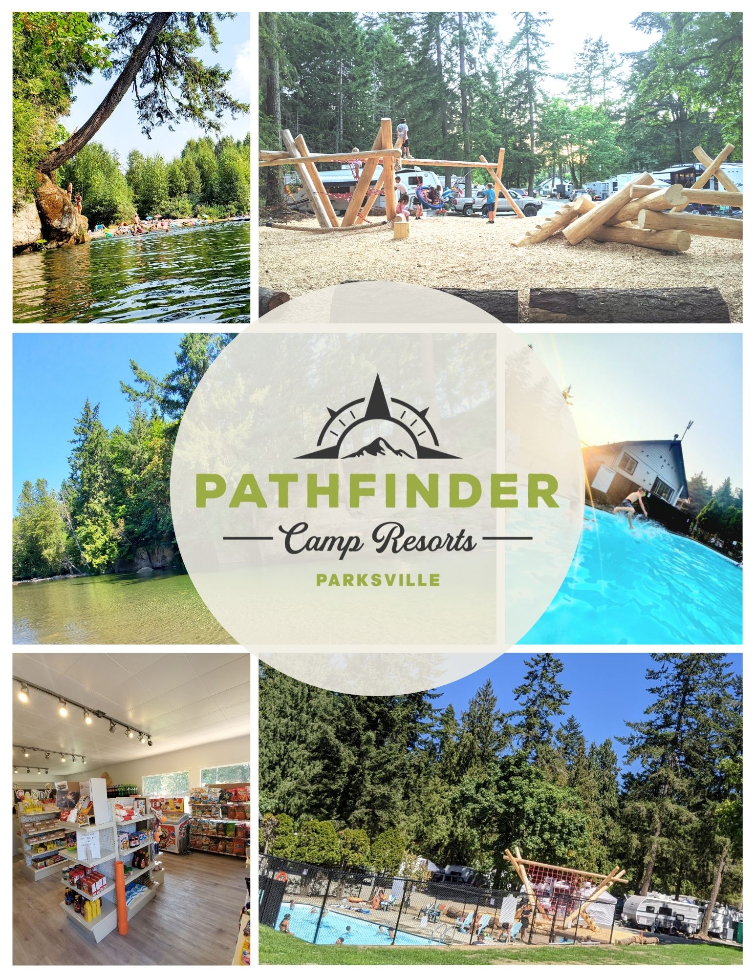 parrys rv park parksville camp camping campground camp resort pathfinder
