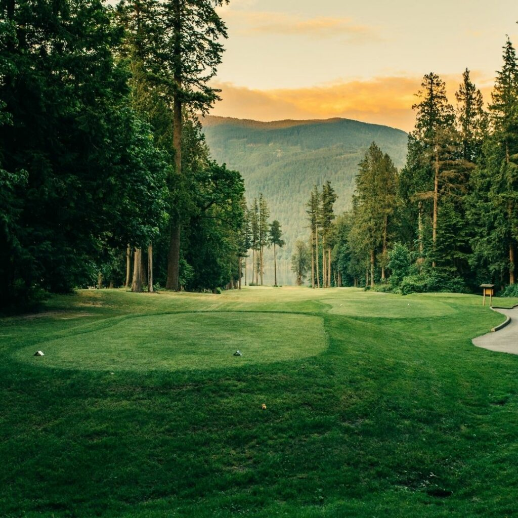 golfing golf course sandpiper golf harrison mills agassiz harrison mills pathfinder camp resorts local attractions things to do